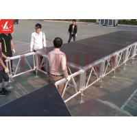 Buy cheap Portable Customized Aluminum Stage Platform For T Runway Theater from wholesalers