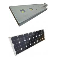 Waterproof Solar Powered Led Street Lights 60W With  Intelligent Light Control Manufactures