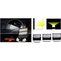 China Black Outside Commercial LED Floodlights , Led Security Flood Light Three Years Warranty on sale