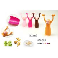 China KITCHEN PEELER - MONKEY DESIGN (4 ASSORTED COLOR) wholesale