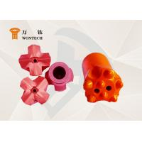 China Piling Work Alloy Steel Taper Button Bit Special Structure ISO9001 Approval wholesale