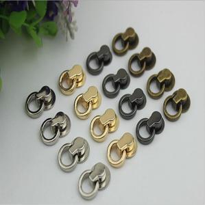 China Multi-color zinc alloy material 8 mm decorative handbag hardware rivets and metal buckles wholesale