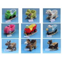 China Baby Rocking Animal Chair Cute Baby Toys Little Mermaid Plush Doll on sale