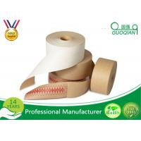 China Printable Jointing Paper White / Brown Kraft Tape For Gift Wrapping Decorative Packing on sale