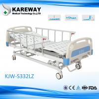 Three Functions Mechanical Hospital Bed with side rails For Private Home
