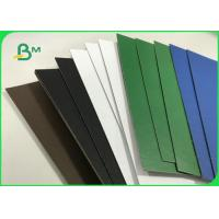 China 1.5mm 2.0mm Recycled Pulp Varnish Colorful Paperboard For File Folders wholesale