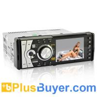China Goliath - 1 DIN Car DVD Player with Detachable Front Hinge Panel on sale