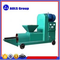 Buy cheap biomass Wood sawdust briquette charcoal making machine sawdust screw extruder from wholesalers