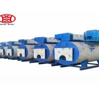 China Low Pressure Horizontal Gas Fired Steam Oil Boiler Food Factory Usage wholesale