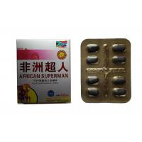 China African Superman 2900mg Herbal Male Enhancement Sex Pills For ED Improvement wholesale