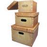 China Tetragonum shape Customized Gift Boxes , unique paper storage box wholesale