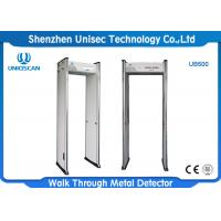 Buy cheap 6 Zones Airport Security Metal Detectors AC85V - 264V For CCTV System from wholesalers