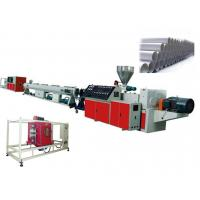 China Twin Screw PVC Plastic Pipe Extrusion Line For UPVC / CPVC Pipe , 400 - 630mm wholesale