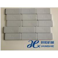 China Customized Gray / Slivery FE Wheel Balance Weight 5 Strips Per Pack 20g wholesale