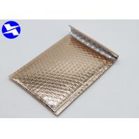 China Various Sizes Metallic Bubble Mailing Envelopes Good Barrier Against Moisture wholesale