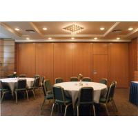 China Multi - Function Room Folding Sound Proof Partition Walls With Aluminum Tracks Rollers wholesale