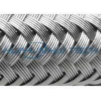 China High Grade Stainless Steel Braided Hose Sleeve 0.10 - 0.30mm Easy Installation wholesale