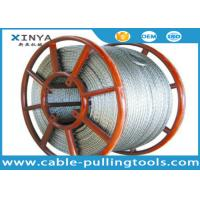 China High Strength Anti Twist Wire Rope with Hexagon 12 strands structure For Pilot Rope wholesale