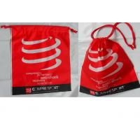 Customized Women's favorite / convenie nce / festive red / drawstring plastic bags  for gifts / clothing, clothes.