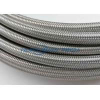 China 600V Industrial Flat Stainless Steel Braided Sleeving For Wire Conducting And Protection wholesale