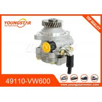 China Nissan Urvan Caravan Car Steering Pump For 49110-VW600 49110-VW200 49110-VZ10A wholesale