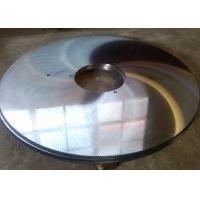 China Angle steel and channel steel cutting 65Mn steel circular hot cut saw blade wholesale