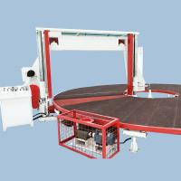 Buy cheap Horizontal Circular / Rotary Sponge Cutting Machine , Foam Block Cutting Machine from wholesalers