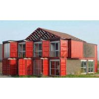 China Custom Container House Prefab Rockwool Or Glass Fiber Sandwich Wall Panel wholesale
