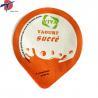 China Food Grade Aluminium foil sealing lids for yogurt cup, yogurt cup sealing lids wholesale