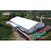 China 50m Width Aluminum Material White PVC Roof Exhibition Tent For Outdoor Trade Show wholesale