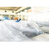 China Inflatable Ship Watering Air Bags Diameter Length Customize For Boat Lifting wholesale
