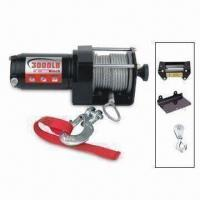 China Auto Winch with Permanent Magnetic Motor and 153:1 Gear Ratio wholesale
