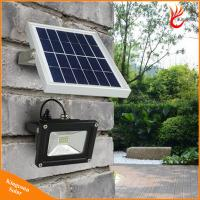 China Warm White 12LED Solar Garden Floodlight for Wall Lawn Street on sale