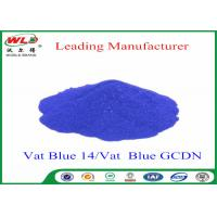 China Textile Dyestuff Blue Indigo Dye C I Vat Blue 14  Vat Dyes For Cotton wholesale