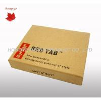 China Corrugated Cardboard Boxes , Custom Printed Garment Packing Boxes wholesale