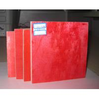 China Water resistant red construction plywood board , Brown / black film faced plywood wholesale
