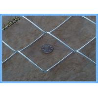 """Quality 2"""" X 2"""" Heavy Duty Galvanised Chain Link Fencing 2 X 25 Meters Smooth Surface for sale"""