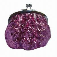 China Aluminum Beaded Bag, 3mm Mesh, with Metal Shelf, OEM Orders are Welcome wholesale