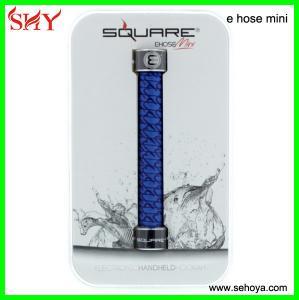 China newest Square e hose mini e hookah kits good taste huge vapor starbuzz e hose review wholesale