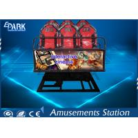 China Digital Control 5D Movie Theater / 5D Cinema Equipment With 9 Stander Seats wholesale