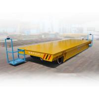 China Busbar powered bogie heavy duty industrial material trolley electrical cars for sale wholesale