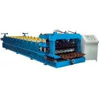 China Cr12 Mould Steel Cutter Glazed tile roll forming machine 5.5KW ISO9001 with high production speed wholesale