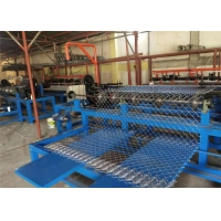 China Plc Control 4.5mm 30x30 Automatic Chain Link Machine For River Banks wholesale