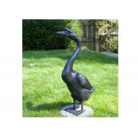 Buy cheap Outdoor Modern Life Size Casting Finish Bronze Animal Goose Sculpture from wholesalers