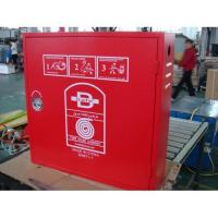 China Fire hose reel cabinet on sale