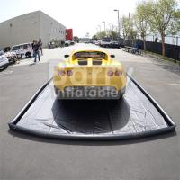 China Commercial Air Sealed PVC Inflatable Car Wash Mat Easy Set Up on sale