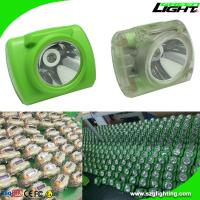 China Rechargeable Cordless Miner's Cap Lamp with Battery Capacity Display 13000 Lux on sale