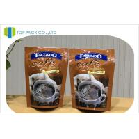 China Smell Proof Laminated Coffee Packing Bags , Safety Ziplock Storage Bags wholesale