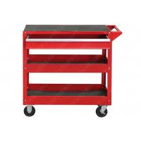 China Cold Steel Mechanic Utility Cart , Roll Around Work Cart  Separate Locking Systems wholesale
