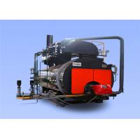 China Industrial Condensing Gas Steam Boiler 105 % Thermal Efficiency Capacity 1 - 20 T wholesale